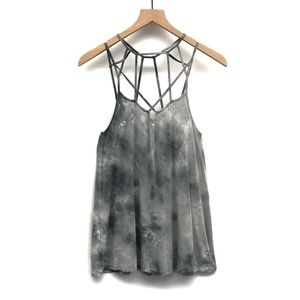 American Eagle Soft & Sexy Gray Tank Top - Size M
